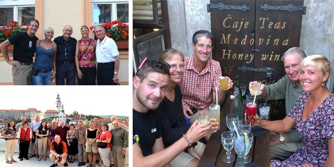 Trek Travel guests share stories of their Prague to Vienna cycling vacation