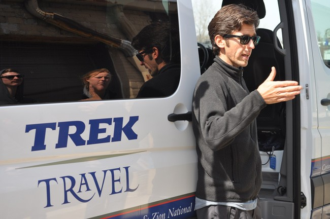 Trek Travel cycling guide Greg Lyeki