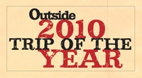 Outside Magazine Top 25 Trips of the Year