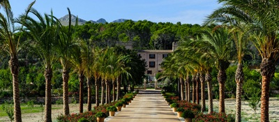 Castell Son Claret Hotel on Trek Travel's Mallorca Cycling Vacation