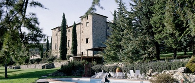 Enjoy Castello di Spaltenna on our Tuscany bike trips