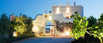 Masseria hotel on Trek Travel Puglia bike tour