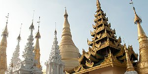 Custom Myanmar with Trek Travel bike tours.