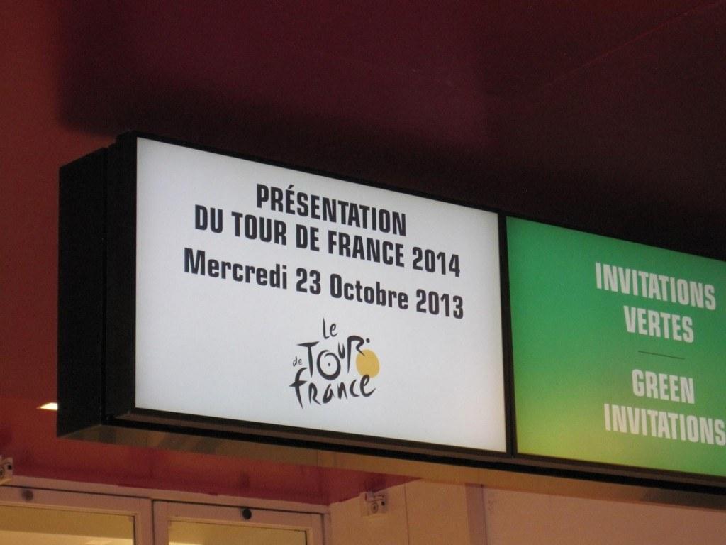 2014 Tour de France presentation