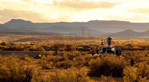 Moab mountain biking trips with Trek Travel