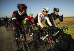Fabian Cancellara of Trek Factory Racing team rides with Trek Travel