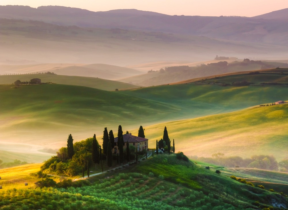 Explore Trek Travel's luxurious Tuscany bike trips.