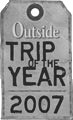 Trek Travel wins 2007 Outside Magazine Trip of the Year