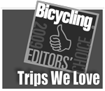 Bicycling Magazine awards Trek Travel Trips We Love in 2009