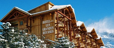 Stay at Hotel Grandes Rousses on Trek Travel's France Cycling Vacation