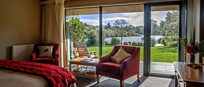 Lake Moeraki Lodge on Trek Travel's Custom New Zealand Cycling Vacation