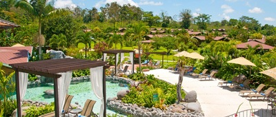 Stay at Hotel Arenal Hot Springs Resort and Spa on Trek Travel Costa Rica Bike Tour