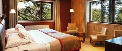 Corralco Hotel and Spa on Trek Travel's Chile Bike Tour