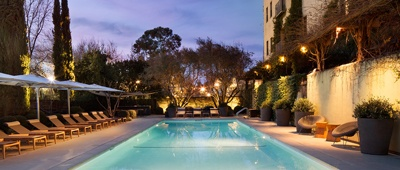 Stay at Hotel Healdsburg on a Trek Travel California Wine Country bike tour