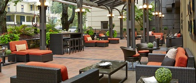 Stay at the Renaissance Asheville Hotel on a Trek Travel bike trip