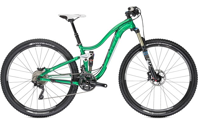 Ride a Trek 2014 Women's Lush SL 29 on a Trek Travel mountain bike trip
