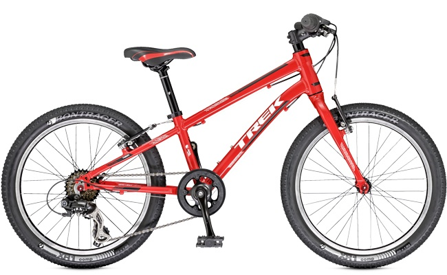 Kids can ride a Trek 2014 Superfly 20 on a Trek Travel mountain bike trip