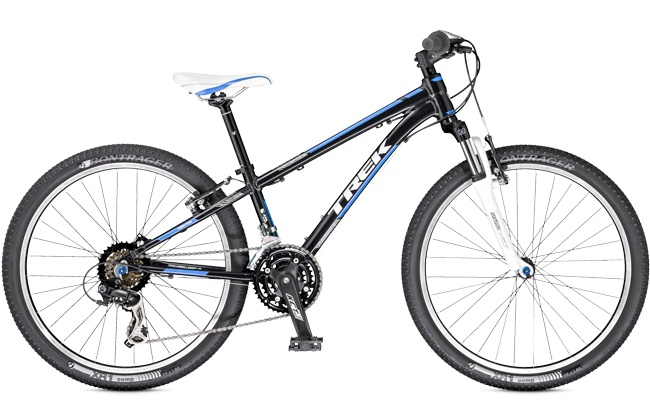Kids can ride a Trek 2014 Superfly 24 on a Trek Travel mountain bike trip