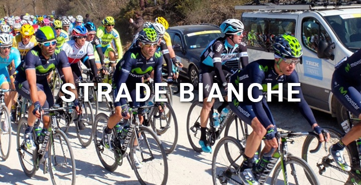 View the Strade Bianche race on a Trek Travel bike tour in Italy