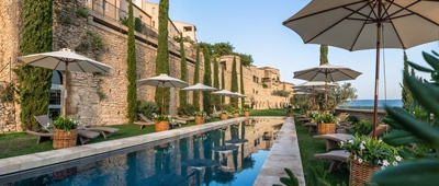 Stay at the Bastide de Gordes hotel on a Trek Travel luxury bike tour in Provence
