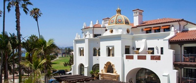 Stay at the Santa Barbara Inn on a Tour of California bike tour