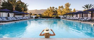 Ojai hotel on Trek Travel's Ojai to Santa Barbara bike tour
