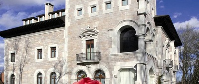 Stay at Hotel Castillo del Bosque on a Trek Travel bike trip in Spain
