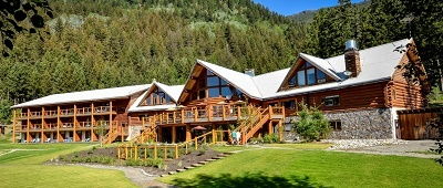 Stay at the Tyax Wilderness Resort and Spa on Trek Travel's Whistler Mountain Bike trip