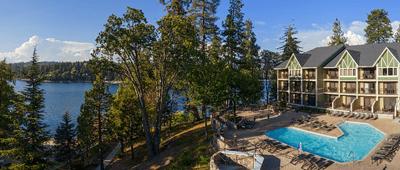 Stay at Lake Arrowhead Resort on a Tour of California bike tour
