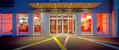 Stay at Icelandair Hotel Reykjavík Marina on Trek Travel's Iceland Mountain Bike trip
