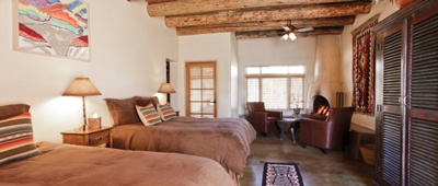 Stay at the Ojo Caliente Mineral Springs Resort and Spa with Trek Travel
