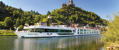 Hop aboard a Scenic River Cruise on a Trek Travel River Cruise Bike Tour
