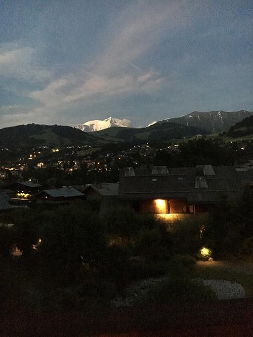 Mont Blanc At Sunset 500x666 Trek Travel
