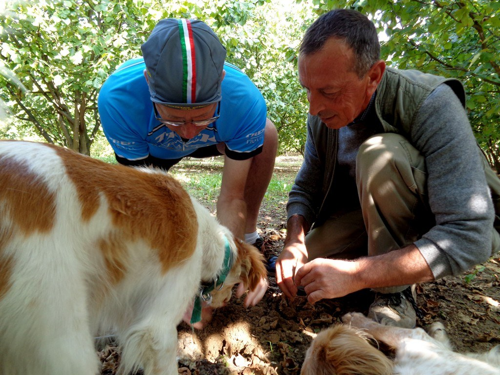 Truffle hunting on Trek Travel's Piedmont, Italy cycling vacation