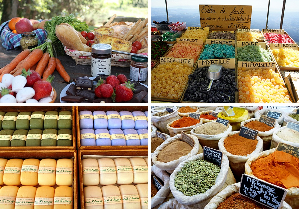 Visit Provencal Markets on Trek Travel's Provence, France Bike Tour