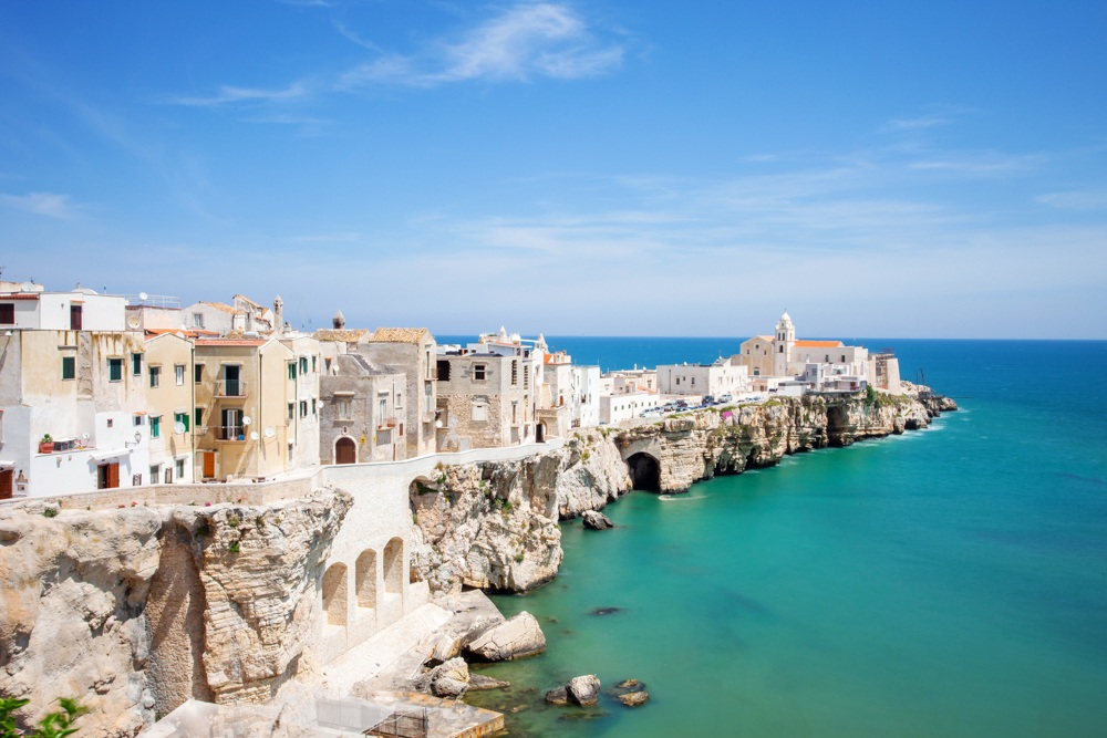 Beautiful ocean side Puglia bike tours with Trek Travel