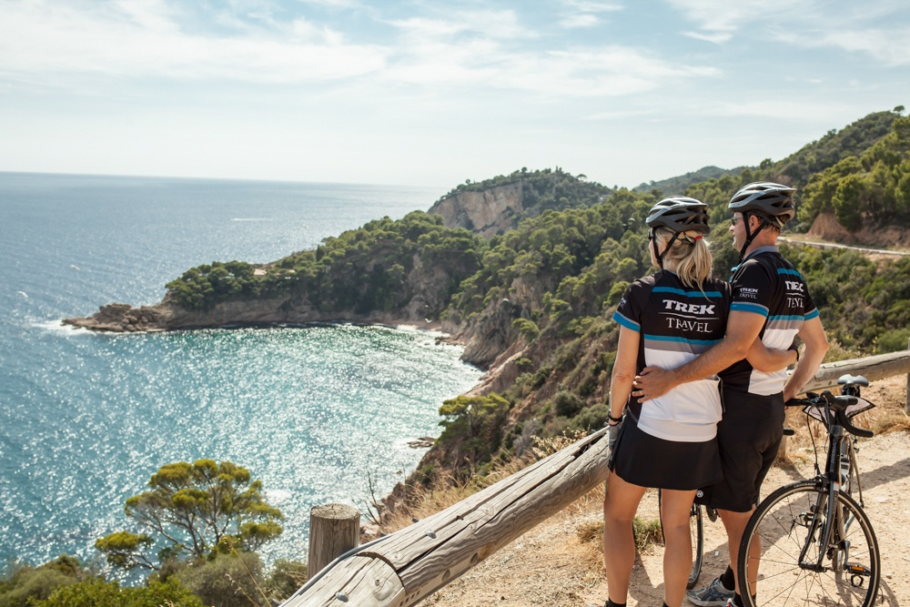 Experience the rugged coast of Costa Brava, Spain with Trek Travel bike trips.