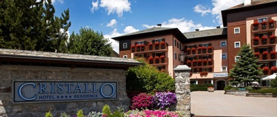Stay at Cristallo Hotel Residence on a Giro d'Italia bike tour