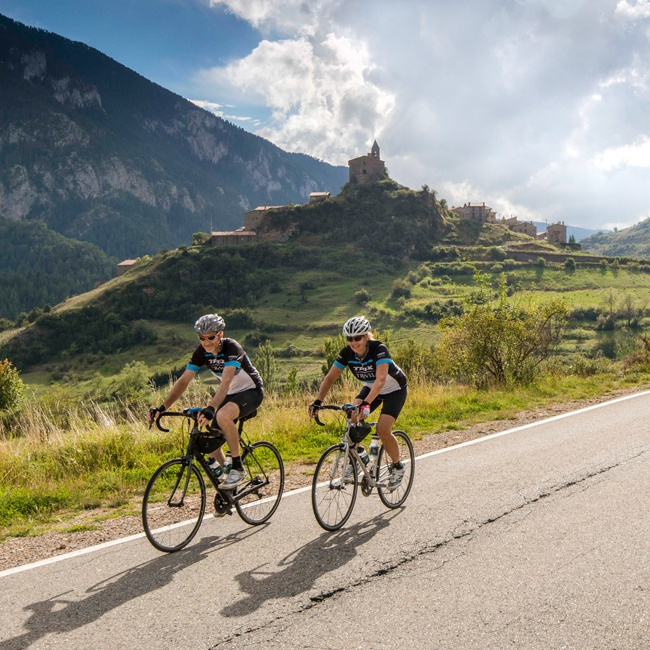 Ride the Pyrenees Sea to Sea bike tour in France and Spain