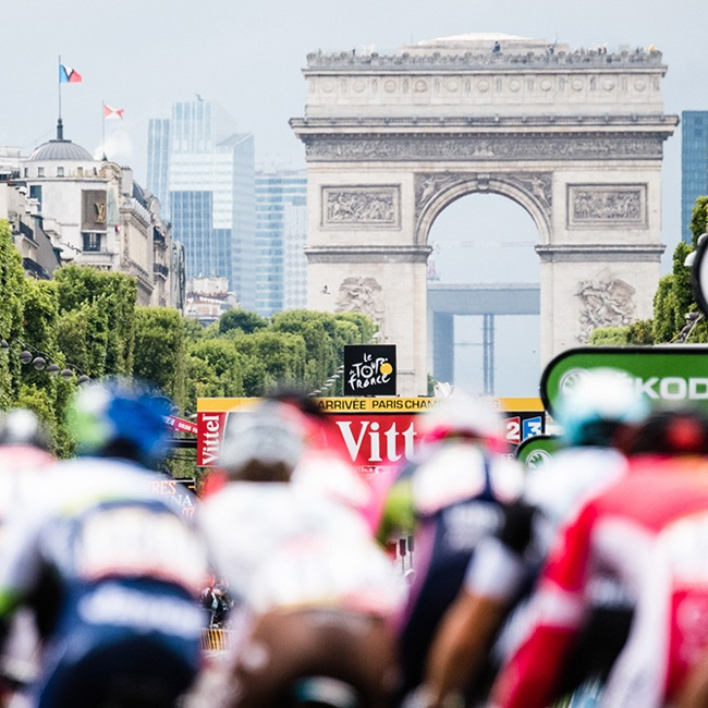 Experience the Tour de France in Paris with Trek Travel