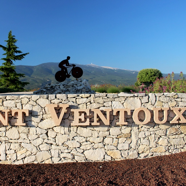 Ride up the legendary Mont Ventoux on a Provence bike tour