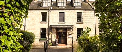 Stay at the Deeside Inn on a Trek Travel Scotland Bike Tour