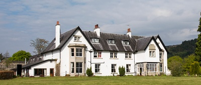 Stay at the Lovat Hotel on a Trek Travel Scotland Bike Tour