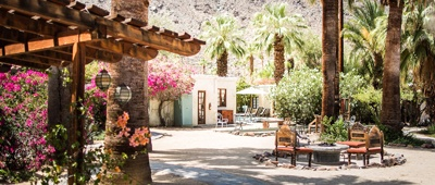 Stay at Korakia Pensione on a Palm Springs and Joshua Tree bike tour