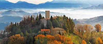 Stay at Castello di Petroia on Trek Travel's Ride Across Italy bike tour