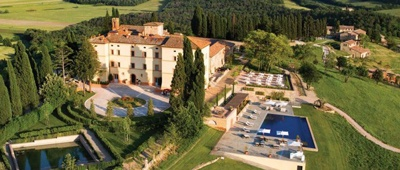 Stay at Castello di Casole on a Tuscany luxury bike tour
