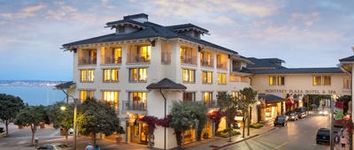 Stay at Monterey Hotel in Monterey, California on a Tour of California pro race bike tour