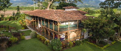Stay at Hotel Bambusa on a Colombia bike tour