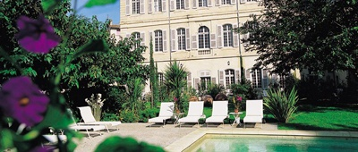 Chateau de Mazan on our Provence luxury bike tour
