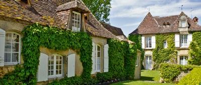 Vieux Logis Hotel on Trek Travel's Dordogne Cycling Vacation